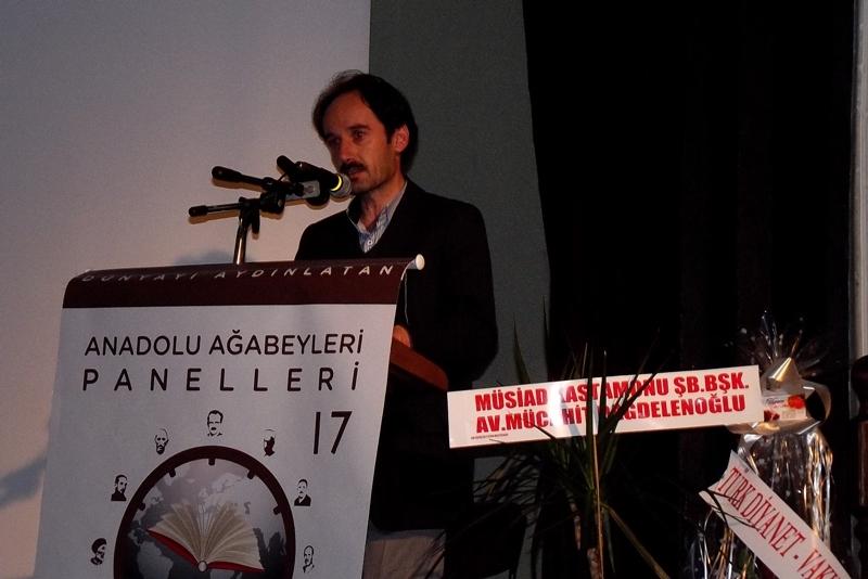 Kastamonu Bedii Eğitim Kültür Vakfı Mütevelli Üyesi Orhan Salcı'nın açış konuşması