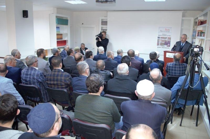 Molla Abdülkerim ÇEVİK'İ anma programı