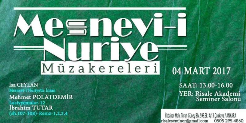 Mesnevi-i Nuriye Müzakerleri-20