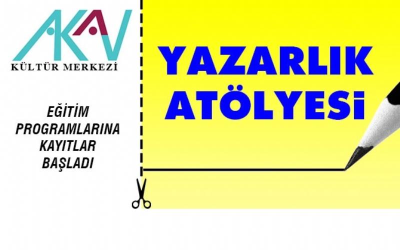 AKAV Kültür Merkezi, geleceğin yazarlarını yetiştirecek