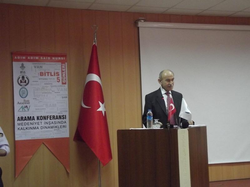 Dr. Suad Alkan'ın konferansından notlar