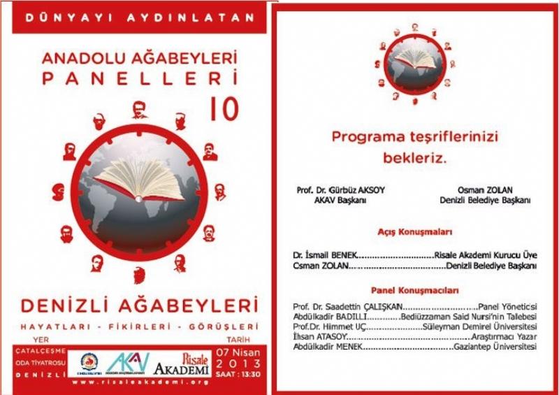 Anadolu Ağabeyleri Panlleri -10- Denizli