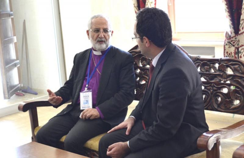 Mardin Süryani Kiliseleri Ruhani Lideri Sayın Gabriel Akyüz: Kültürler barışırsa dünya da barışır