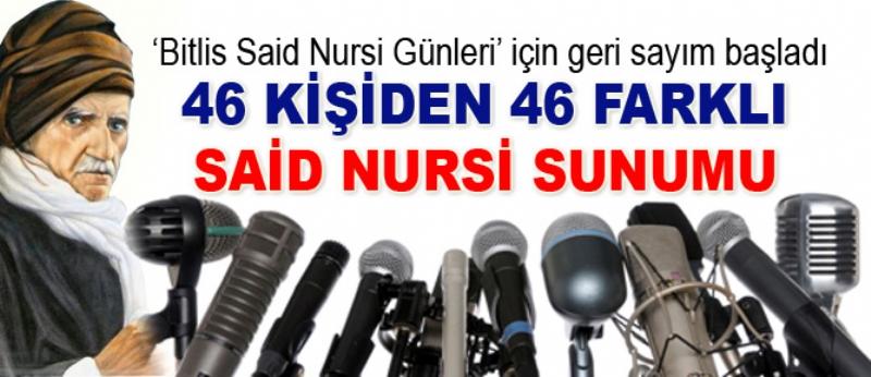 Bitlis Said Nursi Günleri için sayım başladı
