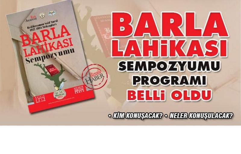 Barla Lahikası Programı