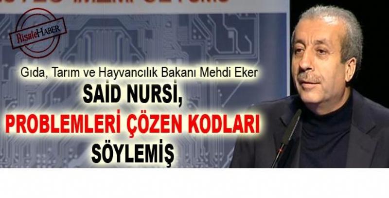 Said Nursi, problemleri çözen kodları söylemiş