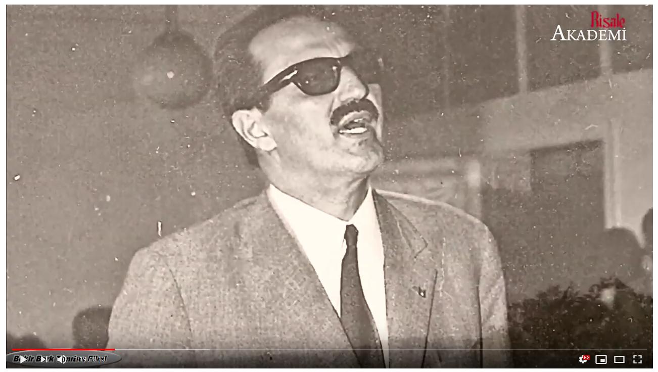 Risale-i Nur'un Unutulmaz Avukatı Bekir BERK