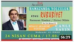 Ramazan Risalesi Birinci Nükte