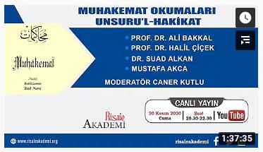 MUHAKEMAT OKUMALARI UNSURU'L-HAKİKAT-3